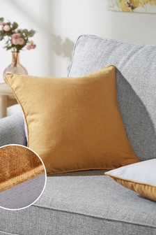 Dalby Square Soft Textured Weave Cushion