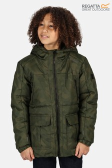 Regatta Green Perico Baffle Jacket