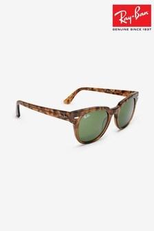Ray-Ban® Havana Brown Meteor Sunglasses