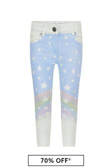 Girls Blue Magic Rainbow Denim Jeans