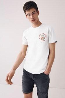 Ecru Tokyo Graphic T-Shirt