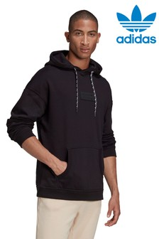 adidas Originals Black RYV Pullover Hoodie
