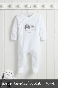 Personalised Born In 2020 Sleepsuit