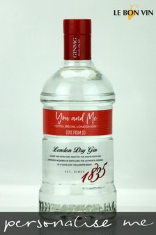 Personalised You & Me Dry Gin by Le Bon Vin