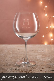 Personalised Name Gin Glass