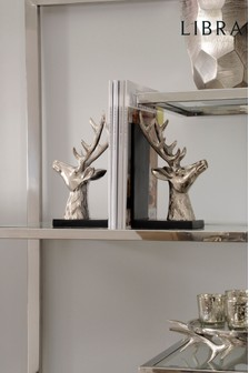 Libra Antler Nickel Bookends