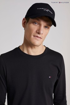 Tommy Hilfiger Black TH Established Cap
