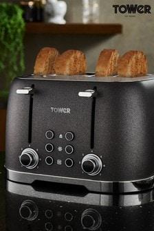 Tower Glitz 4 Slot Toaster