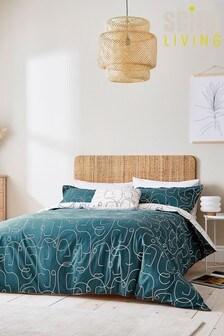 Scion Epsilon Duvet Cover and Pillowcase Set