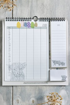 Hamish The Highland Cow Calendar