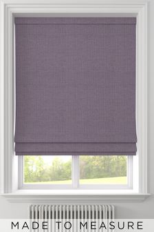 Craven Aubergine Purple Made To Measure Roman Blind