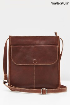 White Stuff Brown Issy Pocket Eco Cross-Body Bag