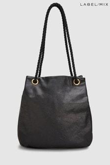 Mix/Mimi Berry Leather Grayson Bag
