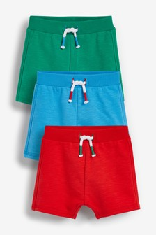 Brights 3 Pack Shorts (0mths-2yrs)