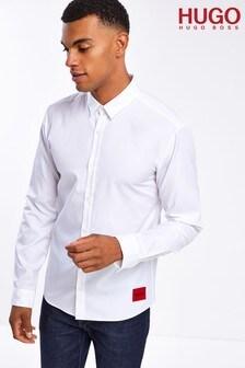 HUGO White Ero3-W Shirt