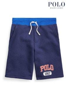 Ralph Lauren Navy Polo Shorts