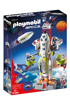 Playmobil® 9488 Space Mission Rocket And Launch Site With Lights And Sound