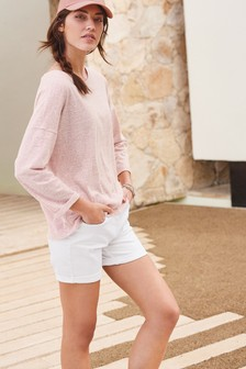 Blush Relaxed Top