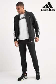 adidas Black Team Sports Tracksuit