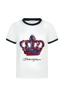 Dolce & Gabbana Kids Cotton T-Shirt