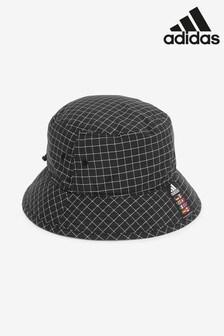 adidas Black Check Bucket Hat