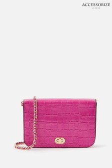 Accessorize Red Evie Cross-Body Bag