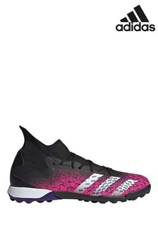 adidas Black Predator P3 Turf Football Boots