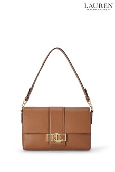 Lauren Ralph Lauren Tan Spencer Crossbody Bag