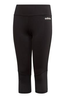 adidas Performance Black Alpha Skin Capri Leggings
