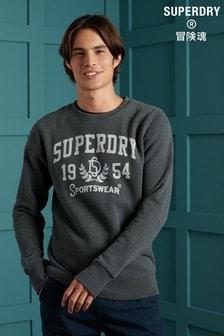Superdry Limited Edition Soft Print Crew Sweatshirt