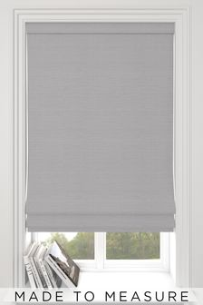 Jasper Silver Made To Measure Roman Blind
