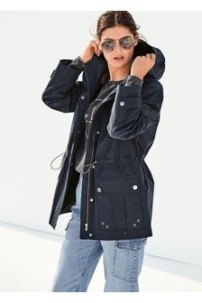 Navy Shower Resistant Jacket