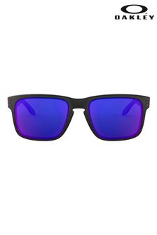 Oakley® Black/Purple Sunglasses