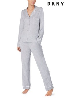 DKNY Signature Notch Collar Pyjama Set