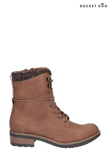 Rocket Dog Brown Tayte Lace-Up Boots