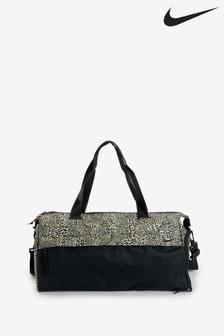 Nike Black Leopard Print Radiate Duffel Bag
