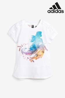 adidas Little Kids White Disney™ Frozen T-Shirt