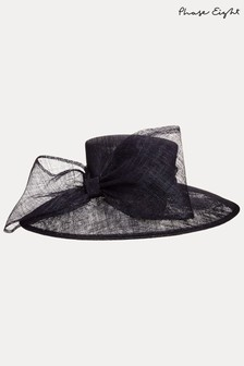 Phase Eight Blue Timone Bow Hat