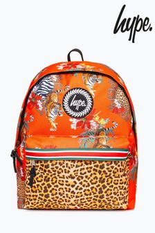 Hype. Orange Tiger Taping Backpack