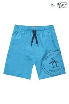 Original Penguin® Logo Swim Shorts