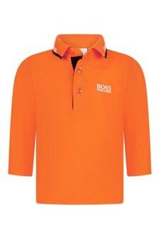 Baby Boys Long Sleeve Poloshirt