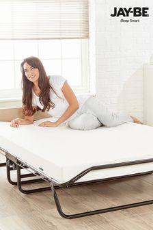Supreme Automatic Folding Bed With Memory Foam Mattress by JayBe