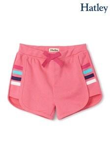 Hatley Pink Retro Rainbow Shorts