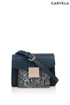 Carvela Green Mini Hoop Pocket Cross Body Bag