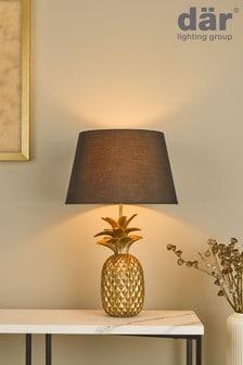 Dar Lighting Gold Safa Table Lamp