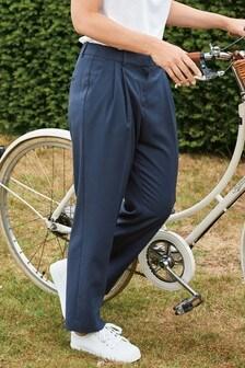 Petrol Emma Willis Straight Leg Trousers