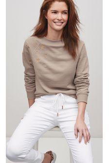 Mink Star Graphic Sweatshirt