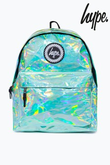 Hype. Mint Holographic Backpack
