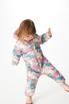 Dino Shower Resistant All Over Print Snowsuit (3mths-7yrs)