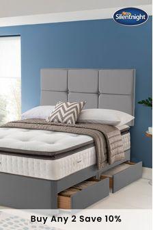 Silentnight Geltex Miracoil Pillow Top 2 Drawer Divan Set